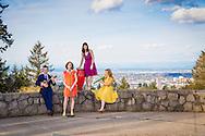 The von Trapp children in Portland, Oregon