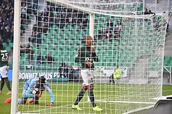October 21, 2018 - Saint Etienne - Stade Geoffroy, France - Wahbi Khazri (saint etienne) vs Abdoulaye Diallo  (Credit Image: © Panoramic via ZUMA Press)