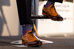 Harry Williams wears Chatham shoes at the annual Exeter Chiefs Foundation Christmas Dinner at Sandy Park - Ryan Hiscott/JMP - 07/12/2018 - RUGBY - Sandy Park - Exeter, England - Exeter Chiefs Foundation Christmas Dinner with David Flatman