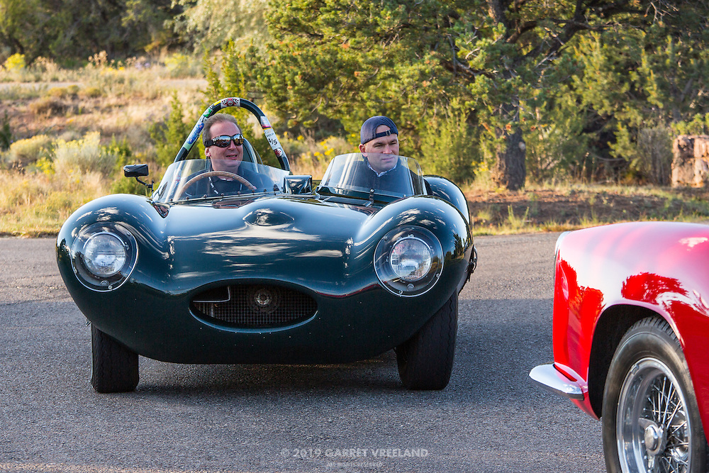 1956 Jaguar D-Type, 2012 Santa Fe Concorso High Mountain Tour.