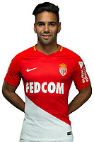 Radamel Falcao during Photoshooting of Monaco for new season 2017/2018 on September 28, 2017 in Monaco, France. (Photo by Chateau/Asm/Icon Sport)