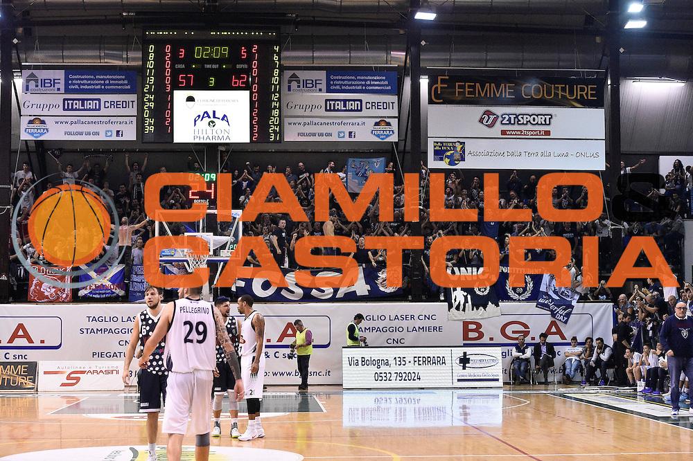 tifosi Fosse dei Leoni Kontatto Fortitudo Bologna<br /> Bondi Pallacanestro Ferrara - Fortitudo Kontatto Bologna<br /> Campionato Basket A2 LNP 2016/2017<br /> Ferrara, 25/11/2016<br /> Foto Ciamillo-Castoria