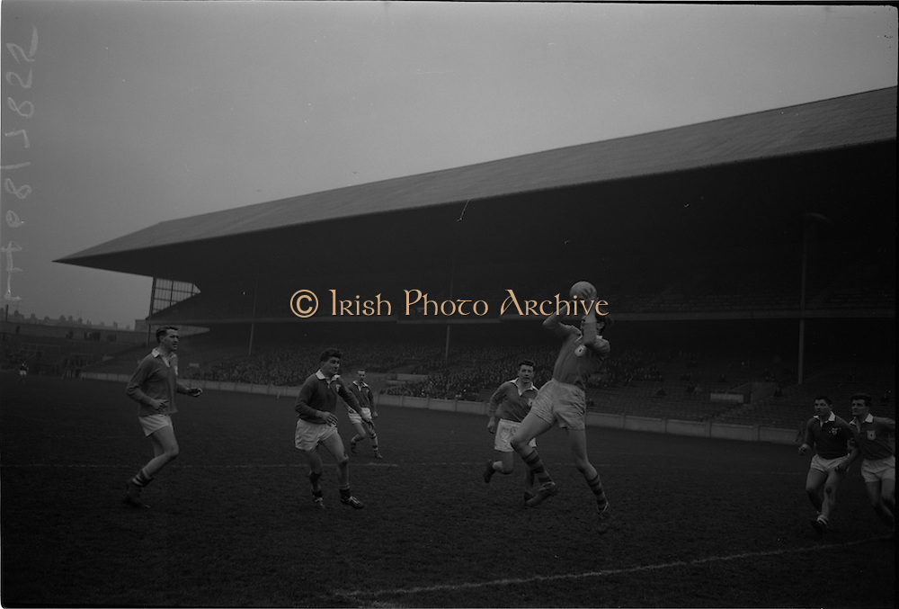 21/02/1965<br /> 02/21/1965<br /> 21 February 1965<br /> Munster v Ulster Railway Cup semi-final at Croke Park. The final score was Ulster 0-14 Munster 0-9.