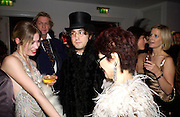 Elizabeth Jagger, Yoko Ono and Sean Lennon. Andy & Patti Wong's Chinese New Year party to celebrate the year of the Rooster held at the Great Eastern Hotel, Liverpool Street, London.29th January 2005. The theme was a night of hedonism in 1920's Shanghai. . ONE TIME USE ONLY - DO NOT ARCHIVE  © Copyright Photograph by Dafydd Jones 66 Stockwell Park Rd. London SW9 0DA Tel 020 7733 0108 www.dafjones.com