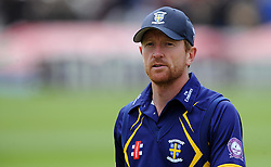 Durham's Paul Collingwood - Photo mandatory by-line: Harry Trump/JMP - Mobile: 07966 386802 - 29/07/15 - SPORT - CRICKET - Somerset v Durham - Royal London One Day Cup - The County Ground, Taunton, England.
