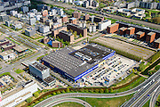 Nederland, Noord-Holland, Amsterdam Zuidoost, 09-04-2014; Bullewijk. Woonwarenhuis IKEA.<br /> Ikea housing department store.<br /> luchtfoto (toeslag op standard tarieven);<br /> aerial photo (additional fee required);<br /> copyright foto/photo Siebe Swart.
