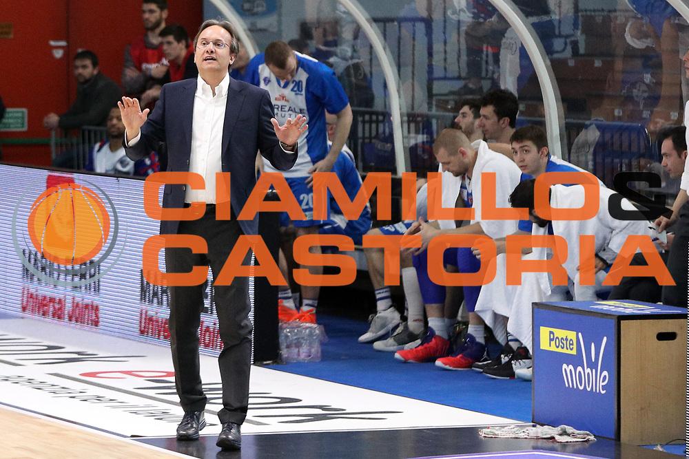 Pasquini Federico, Vanoli Cremona vs Banco di Sardegna Sassari, LBA Serie A 9^ giornata di ritorno stagione 2016/2017, PalaRadi Cremona 26/03/2017