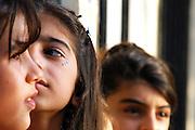 Girls graduating elementary school, Sulemani, Iraq