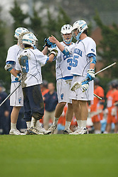 05 April 2008: North Carolina Tar Heels during a 11-12 OT loss to the Virginia Cavaliers on Fetzer Field in Chapel Hill, NC.