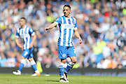 Brighton striker, Anthony Knockaert (27) during the Sky Bet Championship match between Brighton and Hove Albion and Burnley at the American Express Community Stadium, Brighton and Hove, England on 2 April 2016.