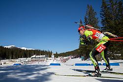 GEREKOVA Jana of Slovakia competes during Women 12.5 km Mass Start competition of the e.on IBU Biathlon World Cup on Sunday, March 9, 2014 in Pokljuka, Slovenia. Photo by Vid Ponikvar / Sportida