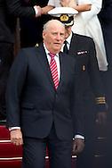 Copenhagen, 16-04-2015 <br /> <br /> Royals guests leave the City Hall of Copenhagen after a reception on the 75th birthday celebrations of Queen Margrethe of Denmark.<br /> <br /> <br /> Photo:Royalportraits Europe/Bernard Ruebsamen