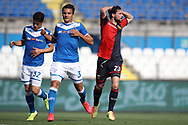 Genoa's Italian striker Mattia Destro reacts after missing a chance to score during the Serie A match at Stadio Mario Rigamonti, Brescia. Picture date: 27th June 2020. Picture credit should read: Jonathan Moscrop/Sportimage