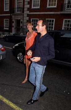 Kat Mack and Robert Hanson, Tom Wesselmann, Hamiltons. 24 June 2003. © Copyright Photograph by Dafydd Jones 66 Stockwell Park Rd. London SW9 0DA Tel 020 7733 0108 www.dafjones.com