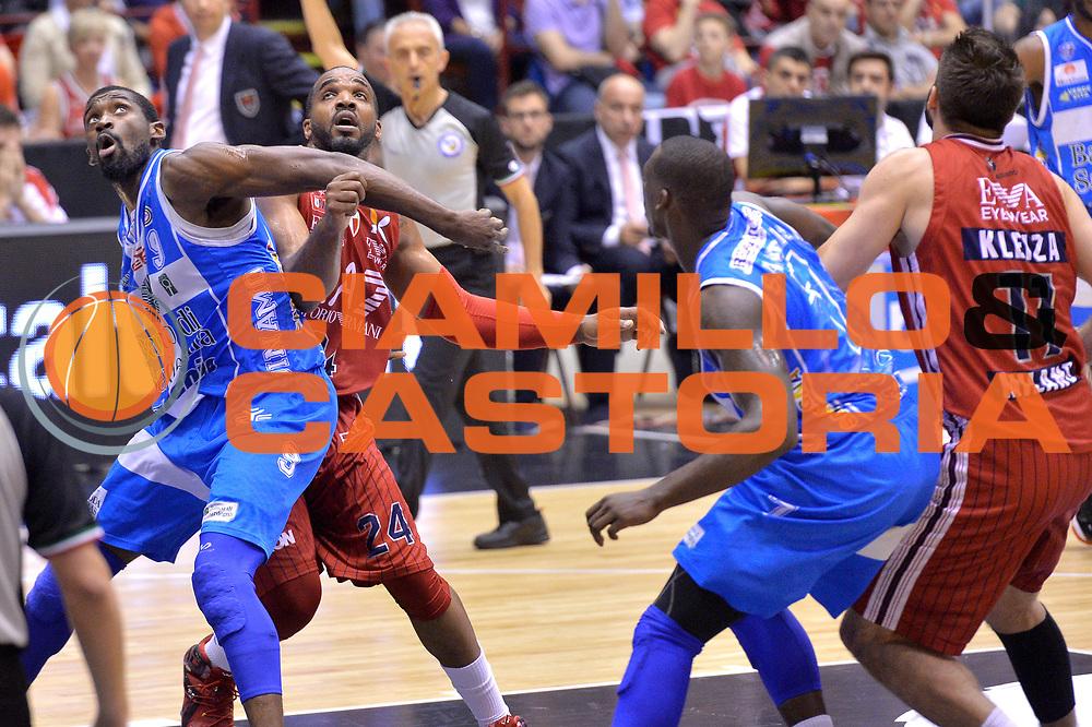 DESCRIZIONE : Milano Lega A 2014-15 EA7 Emporio Armani Milano vs Banco di Sardegna Sassari playoff Semifinale gara 1 <br /> GIOCATORE : Lawal Shame<br /> CATEGORIA : Tagliafuori<br /> SQUADRA : Banco di Sardegna Sassari<br /> EVENTO : PlayOff Semifinale gara 1<br /> GARA : EA7 Emporio Armani Milano vs Banco di Sardegna SassariPlayOff Semifinale Gara 1<br /> DATA : 29/05/2015 <br /> SPORT : Pallacanestro <br /> AUTORE : Agenzia Ciamillo-Castoria/Mancini Ivan<br /> Galleria : Lega Basket A 2014-2015 Fotonotizia : Milano Lega A 2014-15 EA7 Emporio Armani Milano vs Banco di Sardegna Sassari playoff Semifinale  gara 1 Predefinita :