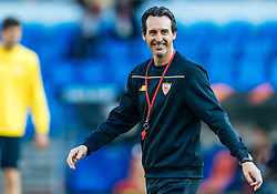 17.05.2016, St. Jakob Park, Basel, SUI, UEFA EL, FC Liverpool vs Sevilla FC, Finale, im Bild Trainer Unai Emery (FC Sevilla) // Trainer Unai Emery (FC Sevilla) during the Training in front of the Final Match of the UEFA Europaleague between FC Liverpool and Sevilla FC at the St. Jakob Park Stadium in Basel, Switzerland on 2016/05/17. EXPA Pictures © 2016, PhotoCredit: EXPA/ JFK