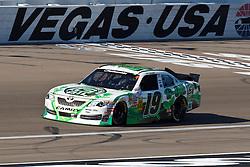 Mar 9, 2012; Las Vegas, NV, USA; Nationwide Series driver Tayler Malsam (19) during practice for the Sam's Town 300 at Las Vegas Motor Speedway. Mandatory Credit: Jason O. Watson-US PRESSWIRE