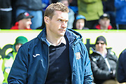Exeter City manager Matt Taylor during the EFL Sky Bet League 2 match between Forest Green Rovers and Exeter City at the New Lawn, Forest Green, United Kingdom on 4 May 2019.