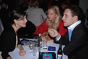 Tatiana  van der Pahlen ( red) and Lord Frederick Windsor.  Blood Wedding Post - performance party. Count Christophe Gollut's annual fundraising Gala for the Almeida. Islington. London. 17 May 2005. ONE TIME USE ONLY - DO NOT ARCHIVE  © Copyright Photograph by Dafydd Jones 66 Stockwell Park Rd. London SW9 0DA Tel 020 7733 0108 www.dafjones.com