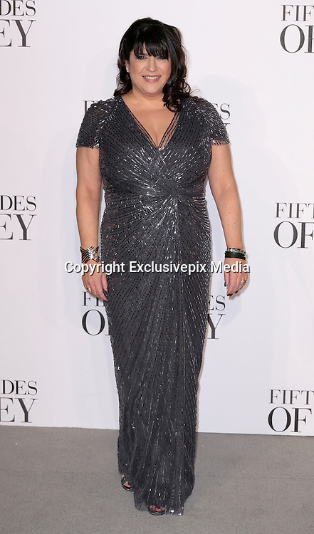 Feb 12, 2015 - 'Fifty Shades of Grey' UK Premiere - Red Carpet Arrivals at Odeon, Leicester Square<br /> <br /> Pictured: E. L. James<br /> ©Exclusivepix Media