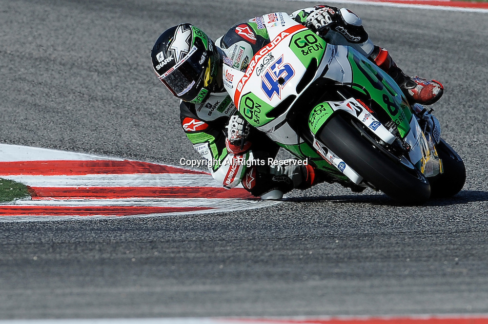 14.09.2014.  Misano, San Marino. MotoGP. San Marino Grand Prix. Scott Redding (Go&Fun Honda Gresini)during the race