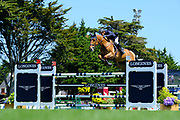 Olivier ROBERT (FRA) riding ATOLL DE MARIGNY during the Prix Groupe Barriere Competition of the International Show Jumping of La Baule 2018 (Jumping International de la Baule), on May 19, 2018 in La Baule, France - Photo Christophe Bricot / ProSportsImages / DPPI