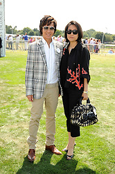 ANDY & PATTI WONG at the Cartier International Polo at Guards Polo Club, Windsor Great Park on 27th July 2008.<br /> <br /> NON EXCLUSIVE - WORLD RIGHTS