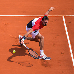 Marin Cilic of Croatia during Day 5 for the French Open 2018 on May 31, 2018 in Paris, France. (Photo by Baptiste Fernandez/Icon Sport)