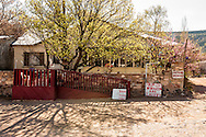 Napoleon Garcia home and studio, The Pueblo de Abiquiu Plaza, Abiquiu, New Mexico