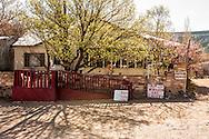 Napoleon Garcia home and studio, The Pueblo de Abiquiu Plaza, Abiquiu, New Mexico