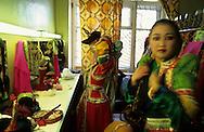 Mongolia. Ulaanbaatar. national theater folkloric dances  OulanBator /  Théâtre national danses folkloriques    OulanBator  Mongolie