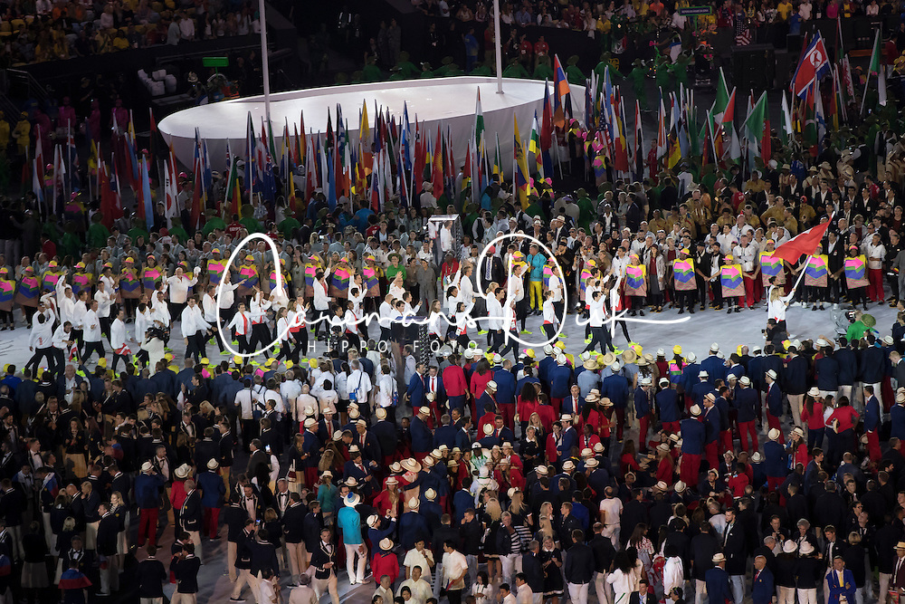 Switzerland, Opening ceremony<br /> Olympic Games Rio 2016<br /> © Hippo Foto - Dirk Caremans<br /> 05/08/16