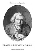 Erasmus Darwin (1731-1802)  English physician and poet. Member of the lunar society. Grandfather of Charles Darwin and Francis Galton