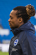 Gaetan Bong (Brighton) arriving at the ground ahead of the Premier League match between Brighton and Hove Albion and Watford at the American Express Community Stadium, Brighton and Hove, England on 2 February 2019.