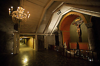 Wieliczka Salt Mine, Poland, The Holy Cross Chapel