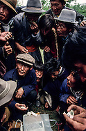 Mongolia . Ik Uul Sum village.  Zavqan province. naadam; video game  /jeu d'argent dans le village de Sum de IK UUL, dans l'aymag de ZAVQAN,