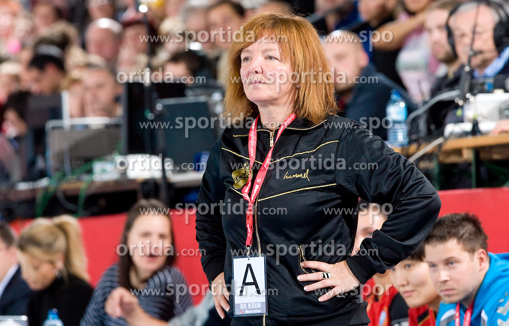 Head coach of Krim Marta Bon at handball match of Round 3 of Champions League between RK Krim Mercator and Hypo Niederosterreich, on November 8, 2009, in Arena Kodeljevo, Ljubljana, Slovenia.  Krim won 35:24. (Photo by Vid Ponikvar / Sportida)