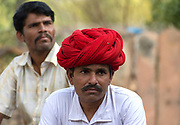 Men from Chanoud, Rajasthan, India.