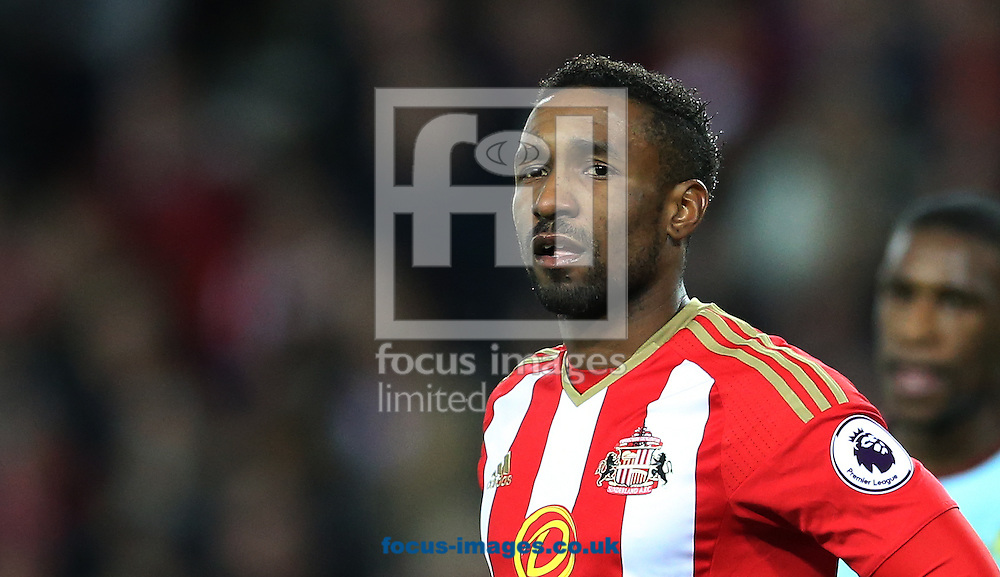 Jermain Defoe of Sunderland during the third round of the FA Cup at the Stadium Of Light, Sunderland<br /> Picture by Simon Moore/Focus Images Ltd 07807 671782<br /> 07/01/2017