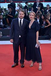 Brady Corbet attending the Vox Lux premiere during the 75th Venice Film Festival