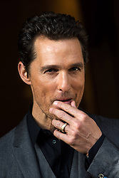 60979736<br /> US actor Matthew McConaughey poses during a photocall of the movie \'Dallas Buyers Club\' presented in Rome, Italy, Tuesday, 28th January 2014. Picture by  imago / i-Images<br /> UK ONLY