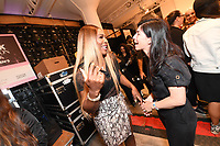 Serena Williams and Claudine DeSola  backstage at the Klarna STYLE360 NYFW Hosts S by Serena Fashion Show