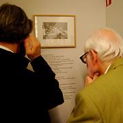 Exhibicion de Saul Steinberg en La Fundacion Henri Cartier-Bresson<br /> Paris, Francia 2008<br /> (Copyright © Aaron Sosa)