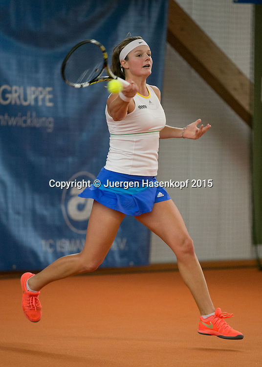 Anna Zaja  (GER)<br /> <br /> Tennis - Ismaning Open 2015 - ITF 10.000 -  TC Ismaning - Ismaning - Bavaria - Germany - 29 October 2015. <br /> &copy; Juergen Hasenkopf