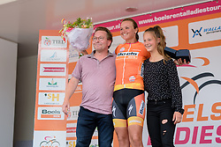 Chantal Blaak takes the GC lead from her Boels Dolmans teammate, Dideriksen at the 123 km Stage 3 of the Boels Ladies Tour 2016 on 1st September 2016 in Sittard Geleen, Netherlands. (Photo by Sean Robinson/Velofocus).