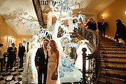 NICK CANDY; ANNABEL WALLACE, Unveiling of the Dior Christmas Tree by John Galliano at Claridge's. London. 1 December 2009 *** Local Caption *** -DO NOT ARCHIVE-© Copyright Photograph by Dafydd Jones. 248 Clapham Rd. London SW9 0PZ. Tel 0207 820 0771. www.dafjones.com.<br /> NICK CANDY; ANNABEL WALLACE, Unveiling of the Dior Christmas Tree by John Galliano at Claridge's. London. 1 December 2009