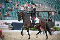 Bordone Susanna (ITA) - Dark Surprise<br /> European Championship Dressage Windsor 2009<br /> © Hippo Foto - Dirk Caremans