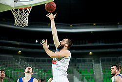 Bojan Radulovic of Petrol Olimpija during basketball match between KK Petrol Olimpija and KK Rogaska in Round #5 of Liga Nova KBM za prvaka 2018/19, on March 31, 2019, in Arena Stozice, Ljubljana, Slovenia. Photo by Vid Ponikvar / Sportida