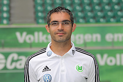 12.07.2011, Volkswagen Arena, Wolfsburg, GER, 1.FBL,  VfL Wolfsburg, Spielervorstellung im Bild  Michele Putaro (Physiotherapeut) beim VfL Wolfsburg in der Saison 2011/2012 // during the player praesentation in Wolfsburg 2011/07/12.     EXPA Pictures © 2011, PhotoCredit: EXPA/ nph/  Rust       ****** out of GER / CRO  / BEL ******