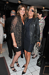 Left to right, JANINE DI GIOVANNI and MARIE COLVIN at a party to celebrate the publication of Ghosts by Daylight by Janine Di Giovanni held at Blakes Hotel, London on 12th July 2011.